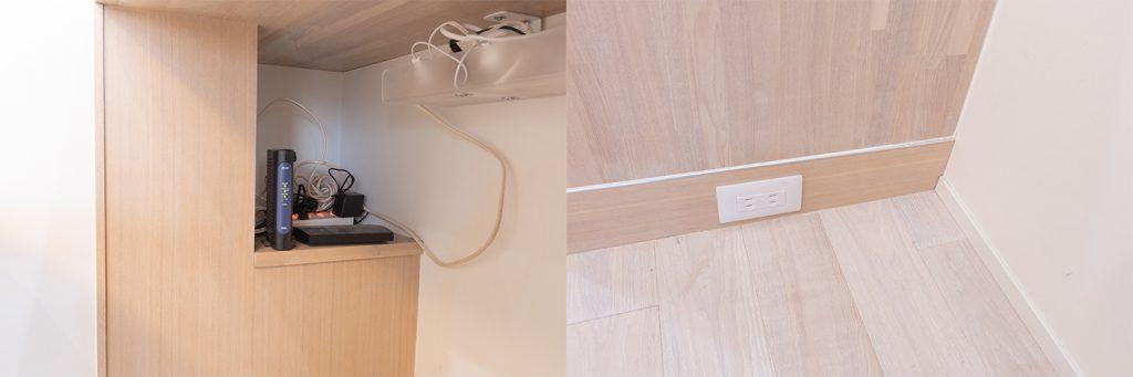 リノベーション,キッチン,LDK,造作,白,木,間接照明,事例,感想