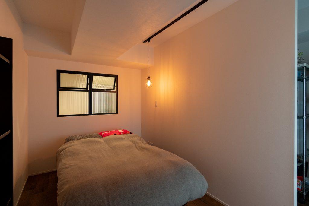 リノベーション,マンション,寝室,室内窓,事例,感想