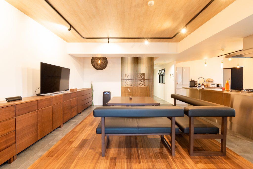 リノベーション,マンション,リビング,LDK,23畳,床暖房,事例,感想